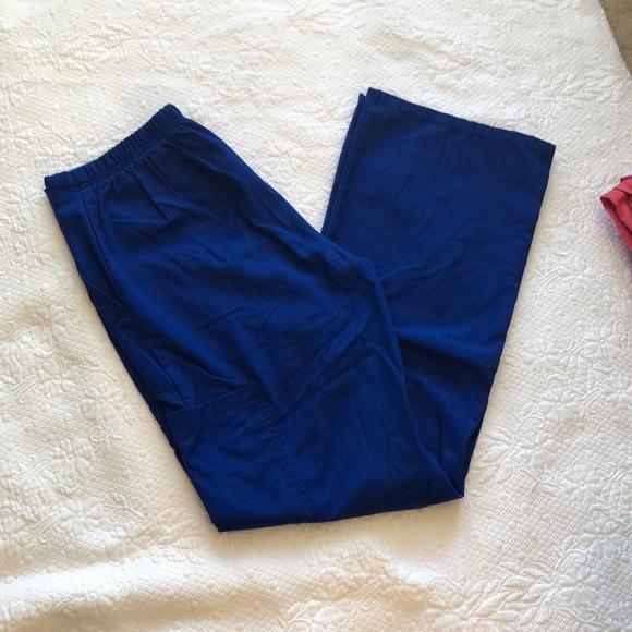 91270849ccb Cherokee Pants | Scrub Star Scrubs Bottoms Royal Blue Xs | Poshmark